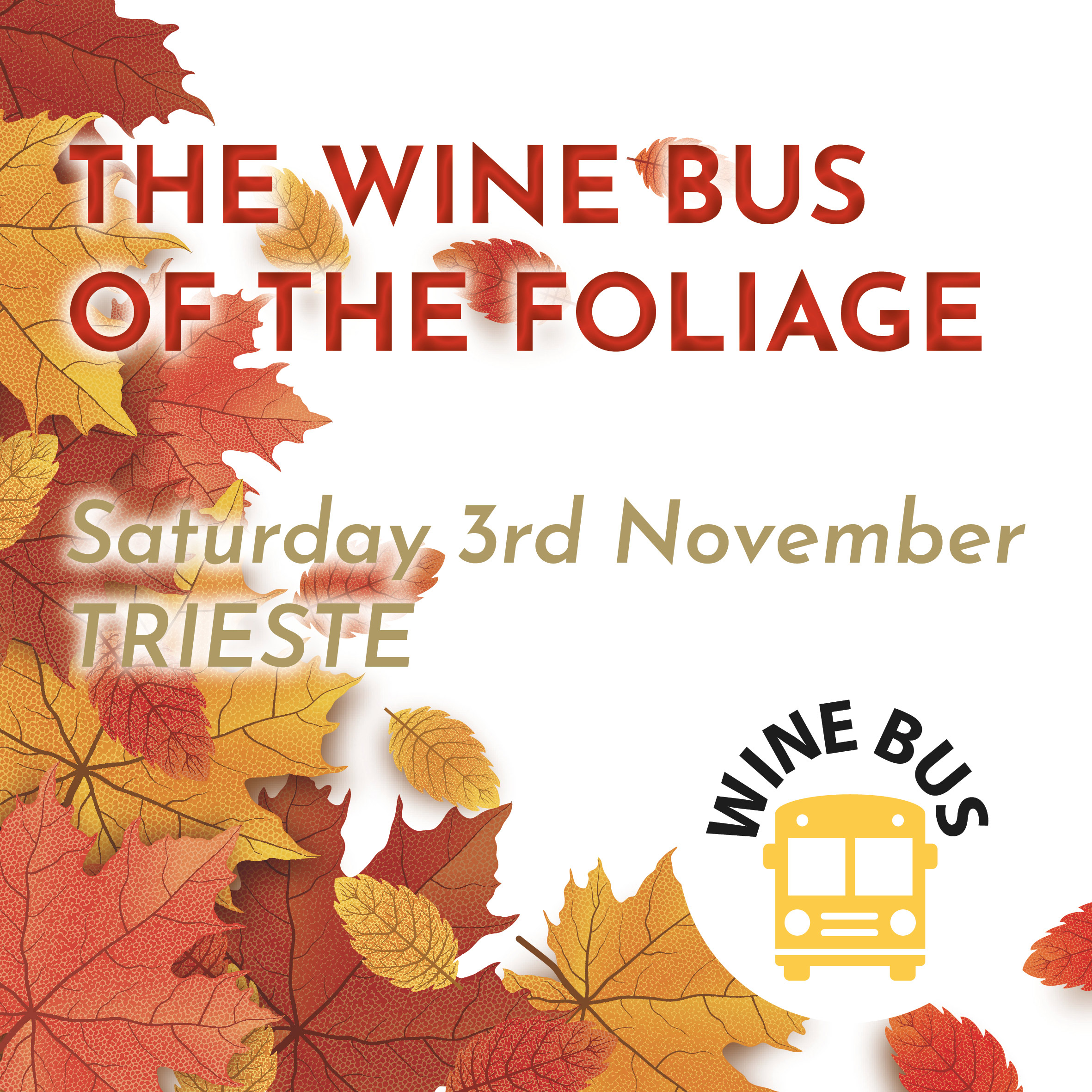 The Wine Bus of the Foliage