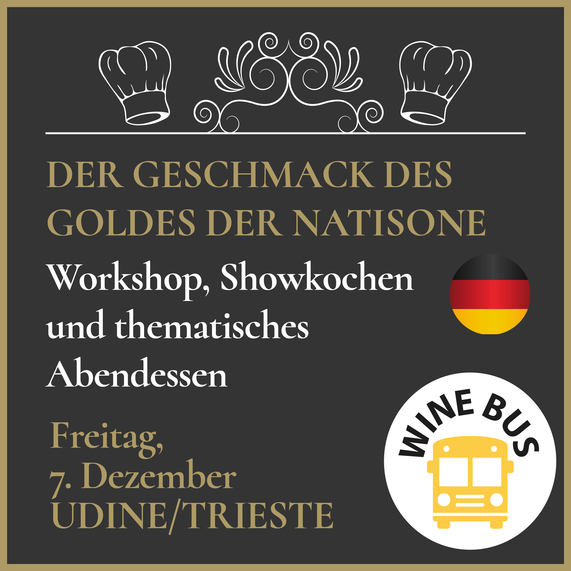 Wine Bus - Natisone Gold