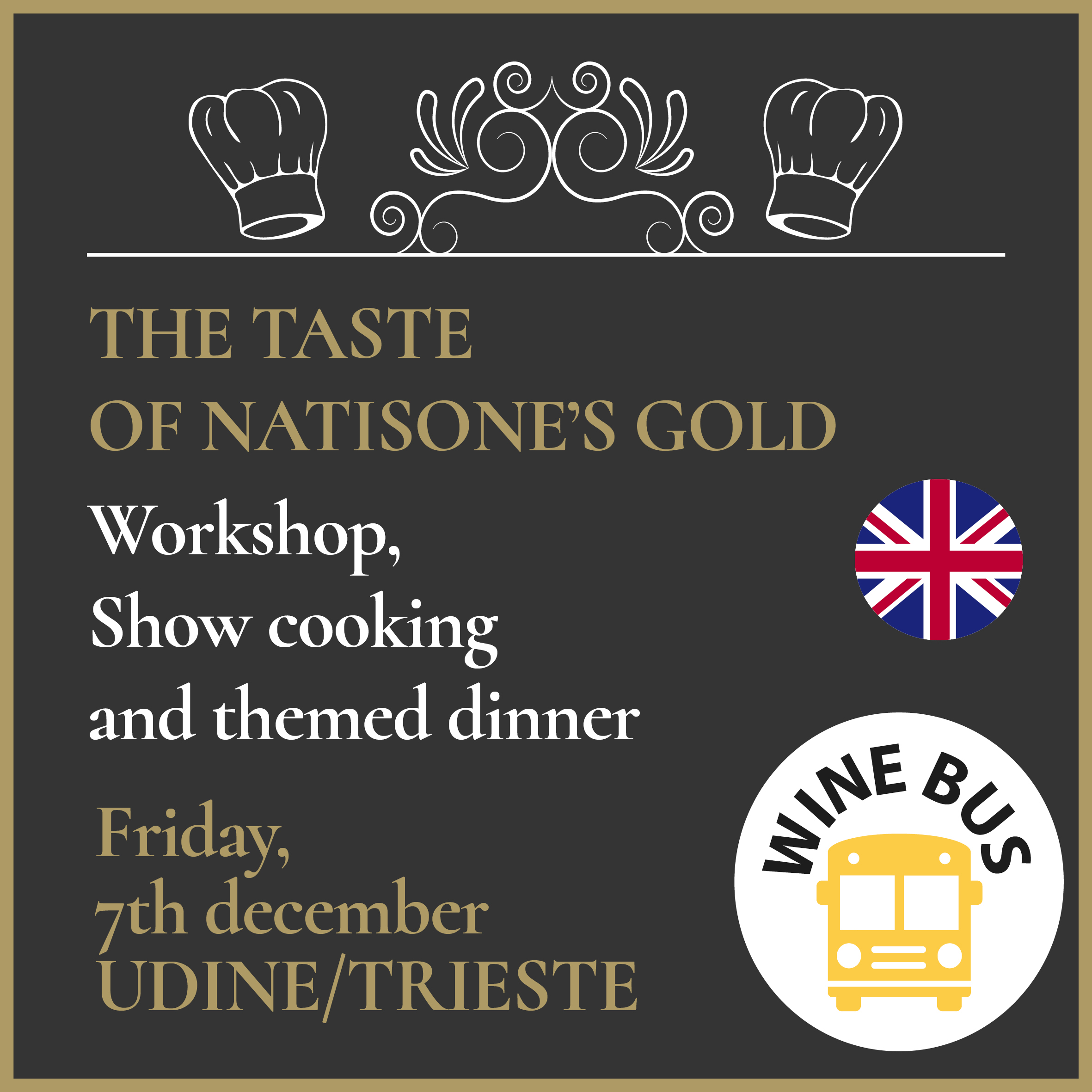 Wine Bus - The Gold of Natisone