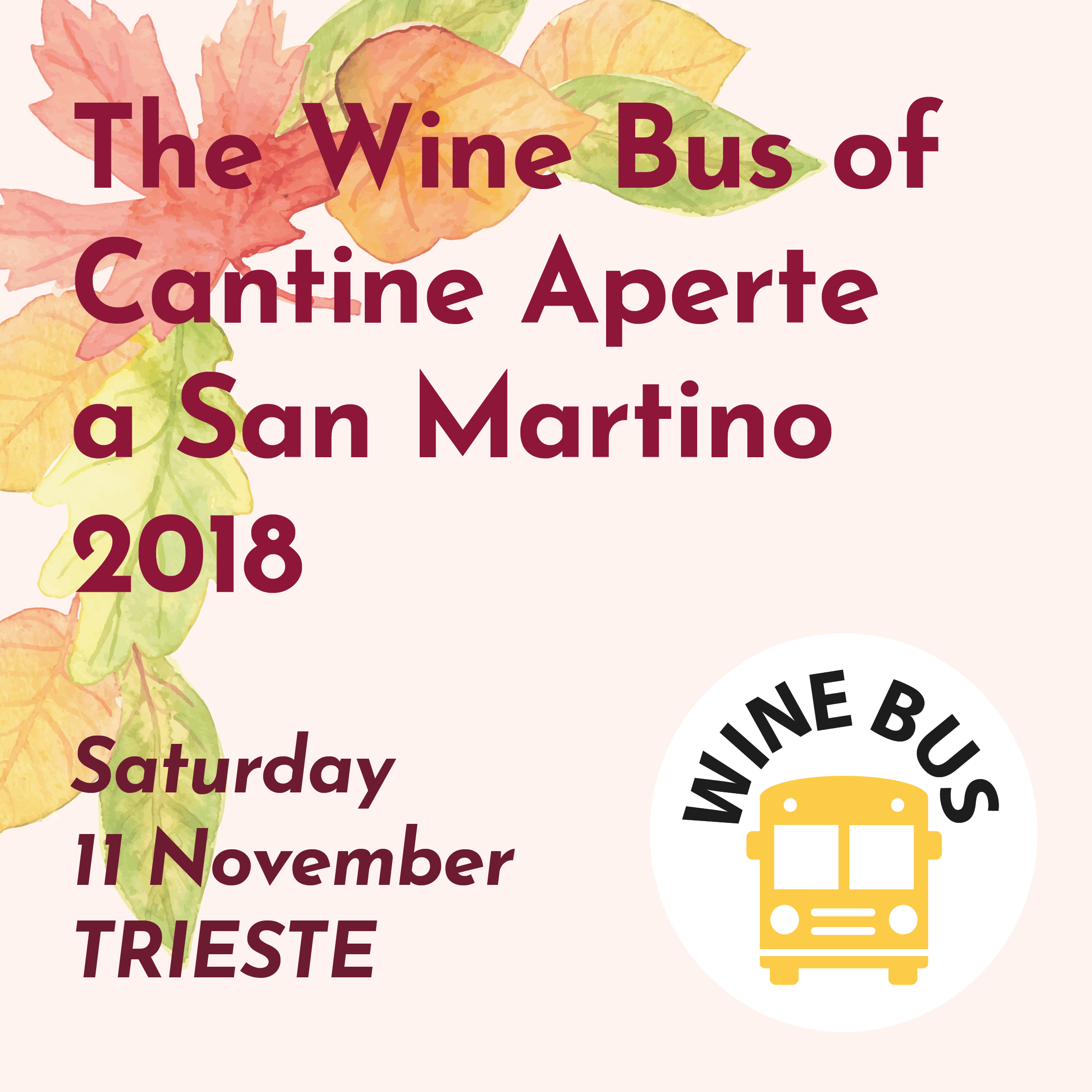 The Wine Bus of Cantine Aperte a San Martino 2018